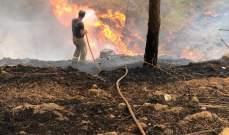 الدفاع المدني: إخماد 3 حرائق أعشاب يابسة في الجديدة ورويسة البلوط والبترون