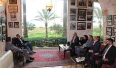 أرسلان عرض بملف الإستحقاق الإنتخابي مع وفد من الحزب السوري القومي