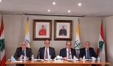المجلس العام الماروني: ليتنازل السياسيون عن حقهم ويضعوا الحق العام فوق الخاص بهذه المرحلة