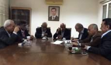 البعث العربي عقد اجتماعا للبحث بالأمور التنظيمية الخاصة بشؤون الحزب