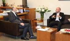 وزير البيئة التقى جعجع في معراب:القوات صوتت مع خطة النفايات فلا مشكلة معها