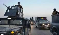 """مقتل عشرة عناصر من """"داعش"""" واعتقال ستة آخرين في الأنبار وديالى العراقيتين"""
