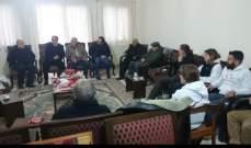 """وفد من جمعية """"نورج"""" زار بلدة كفرحمام بالعرقوب ووزع حصصاً غذائية على المحتاجين"""