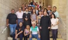 جولة سياحية للاعلاميين لتفعيل السياحة الدينية في زحلة