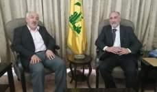 حسن حب الله بحث مع الاسرى المحررين الاوضاع السياسية الراهنة
