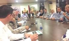 هيئة العمل الفلسطيني المشترك بلبنان دانت تصريحات نتانياهو الاخيرة