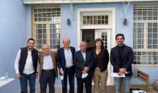 الكتلة الوطنيّة اجتمعت مع التنظيم الناصري: لحكومة انتقالية تعمل على وقف الانهيار