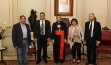 الراعي استقبل الاتحاد العربي للقبائل: لحكومة إنقاذية مستقلة بأقرب وقت