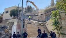 القوات الإسرائيلية تقتل فلسطينيا بعد تنفيذ عملية دهس في حي الشيخ جراح بالقدس
