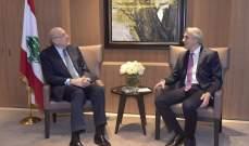 ميقاتي استقبل سفير تركيا لدى لبنان