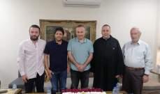 الأب بوعبود هنأ رئيس المحكمة العسكرية الدائمة العميد منير شحادة
