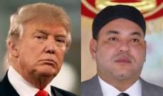 ملك المغرب بعث رسالة إلى ترامب بإسم 57 دولة وحذره من نقل سفارة أميركا للقدس