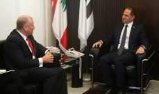 مايلز: لضرورة مساعدة لبنان على تحمل العبء الذي يشكله النزوح السوري