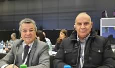 فلحة مثل لبنان في الجمعية العمومية لاتحاد البث الفضائي الاوروبي