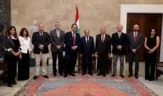 الرئيس عون: لاقناع الدول الاوروبية بتحقيق عودة النازحين الى بلدهم