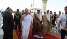 ملك الأردن ورئيسا العراق وتشاد وصلوا إلى جدة للمشاركة في قمة مكة