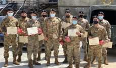 الجيش: تمرين طبي شارك فيه عسكريون ومدنيون من بلدة المريجات-البقاع