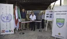 الكتيبة الإيطالية قدمت مولدا كهربائيا لبلدية عين ابل