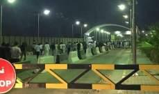 قوات فضّ الشغب العراقية تدخل مطار النجف لإخراج المتظاهرين