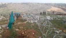 النشرة: الجيش الاسرائيلي باشر بتركيب اسلاك شائكة عند الخط الازرق بكروم الشراقي