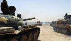 النشرة: الجيش السوري استعاد السيطرة على عدد من القرى في ريف دمشق الجنوبي