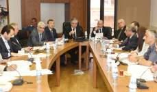 وفد من لجنة الدفاع في برلمان أستونيا التقى لجنة الدفاع اللبنانية