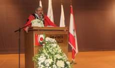 أيوب: الحرص على ازدهار الجامعة حق علينا لأنها الوسيلة المثلى لتصحيح كل خلل