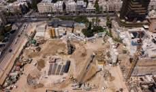 اكتشاف مقبرة إسلامية أثناء مدّ سكة للقطارات في تل أبيب