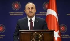 وزير خارجية تركيا: لا يمكن لأحد أن يجبرنا على الإحتفاظ باللاجئين على أراضينا