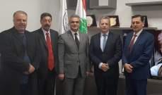 ابي خليل يلتقي اللجنة المشتركة اللبنانية السورية حول الأحواض المائية