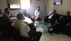 منصور زار منفذية عكار في الحزب القومي: للتنسيق والتعاون