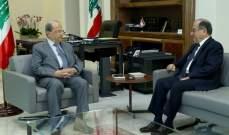 الرئيس عون عرض مع بقرادوني الاوضاع العامة