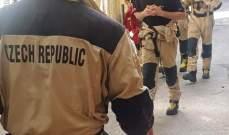 سفارة الجمهورية التشيكية: فريق البحث والانقاذ التشيكي كثف عمله على الارض خلال عطلة نهاية الاسبوع