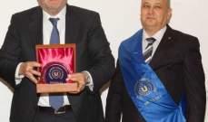 ممثل إتحاد الغرف الأوروبية يشكر شقير لتقديمه مقراً للإتحاد