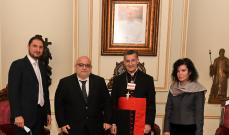 حزب الرامغافار زار الراعي: نقف إلى جانب البطريرك في جهده لاستعادة وتقوية لبنان
