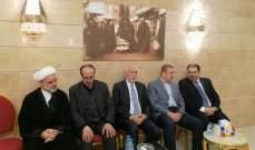 ممثل بري ونواب ووفود حزبية زاروا السفارة العراقية لتقديم واجب العزاء