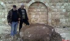 النشرة: العثور على معصرة قديمة العهد في بلدة زوطر الغربية