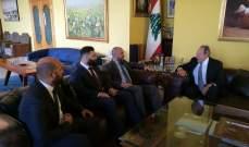 لحود عرض مع سفير كوبا للمستجدات على الساحات المحلية والإقليمية والدولية