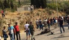 النشرة: سقوط خمسة جرحى بحادث سير عند جسر البالما باتجاه طرابلس