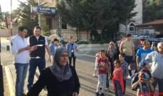 بدء عودة اللبنانيين من سوريا عبر نقطة المصنع