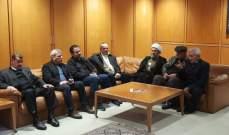 بزي خلال استقبال جثمان المغترب الخشن: لتعزيز التواصل بين لبنان المقيم والمغترب