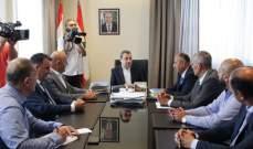 أبو فاعور: حريصون على تنظيم قطاع تعبئة المياه وتتبع مصادرها والتأكد من سلامتها