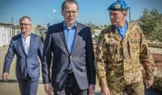 وزيرا دفاع فنلندا وإستونيا تفقدا كتيبتا بلادهما في اليونيفيل في الطيري