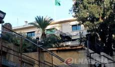سفارة السعودية بلبنان تكرر طلبها من رعاياها مغادرة البلاد في أقرب فرصة