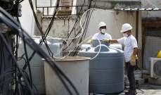 اليونيسف: أكثر من 4 ملايين شخص مهددون بفقدان المياه في لبنان خلال شهر
