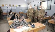 قائد الجيش تفقد الكلية الحربية: دخولها سيكون لمن يستحق والذي أثبت كفاءته وجدارته