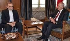 ولايتي التقى بري: الأميركيون سيفشلون في سوريا كما في العراق