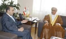 مرتضى عرض مع سفيري سلطنة عمان وإسبانيا التعاون الثقافي والزراعي