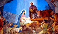 """""""وقُمِّط واُضجِع في مزود""""(لو2: 7)"""