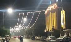 النشرة: الإحتفالات تعم العاصمة السورية دمشق بحلول عيد رأس السنة